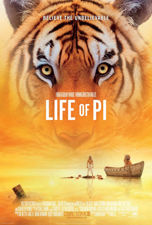 """Life of Pi"" Film Poster"