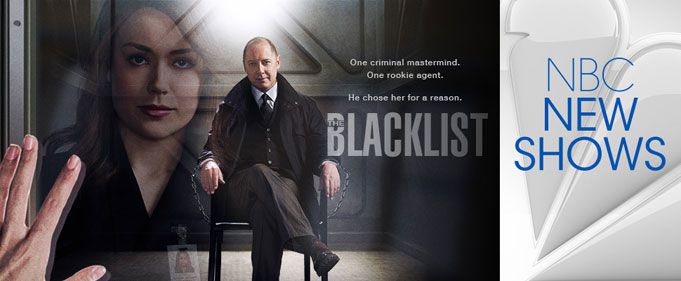 The Blacklist Poster with Megan Boone & James Spader