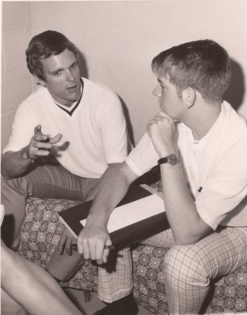 Jean-Louis Rodrigue (R) interviewing Keir Dullea (L) - Alexander Technique