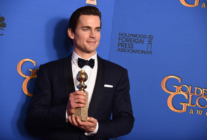Matt Bomer wins Golden Globe