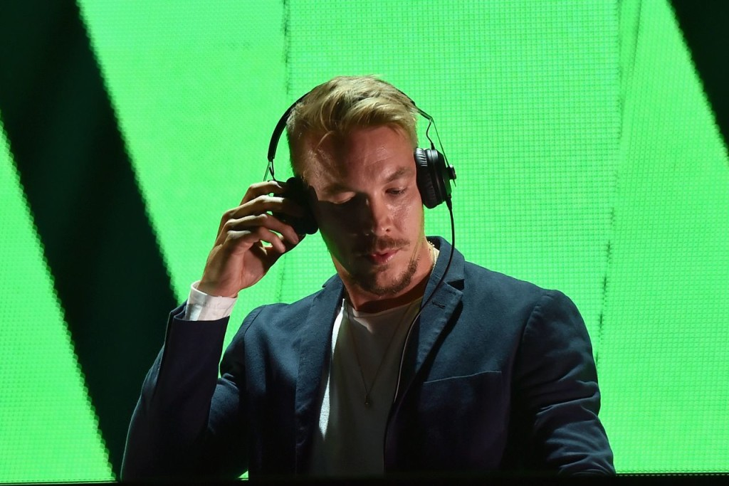 Diplo with headphones